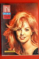 MYLENE DEMONGEOT ON COVER 1963 VERY RARE VINTAGE EXYUGO MAGAZINE