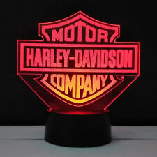Harley Davidson LED Light - 7 Color Change Touch Button