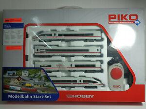 H0 Piko 57194 Start-Set Personenzug Triebzug ICE 3 DB neuwertig in OVP (02/011)