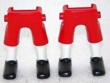 2x Piernas Pantalones cortos rojo playmobil ZU GARDE Soldados marinero ACW