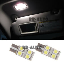 For 06-16 Lexus IS250 IS350 IS-F ISF Sun Visor Roof Map T10 4-SMD LED Xenon Bulb
