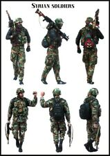 1:35 Syrian soldiers with backpacks  Scale Resin Figure