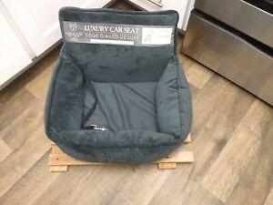 Nandog Pet Gear - Luxury Car Seat grey