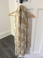 ELILA Silk Chiffon Oversized Scarf New Without Tags