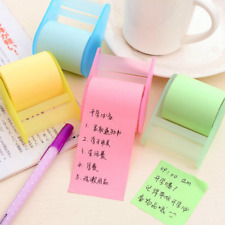 1PC New Adhesive Tape Style Fluorescent Paper Post It Sticky Notes Paper Core