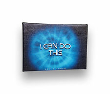 """I Can Do This, Inspirational Positive QuoteArtwork Canvas on Wooden Frame, 5""""x7'"""
