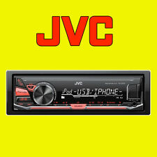 JVC Digital Media Receiver Car MP3 FLAC Radio Stereo Aux, USB for iPod iPhone