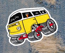Vintage Style 70's Shaggin Wagon Van Hippie Bus Car Shirt Patch Badge 9.5cm