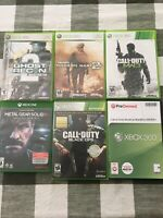Call of Duty Lot Black Ops World At War Modern Warfare 2, 3 Metal Gear Xbox 360
