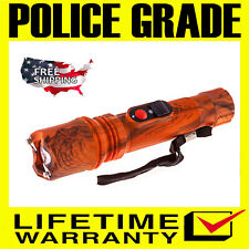 Police Stun Gun SF786-189 BV Max Power Rechargeable with Ultra Bright Flashlight