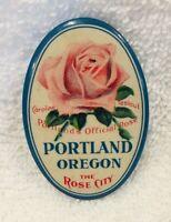 1922 Portland Rose Festival Caroline Testout Portland's Official Rose Pin Button