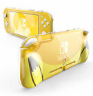 For Nintendo Switch Lite 2019 Mumba Protective Clear Shell Cover with TPU Grip