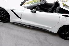 Chevy Corvette C7 STINGRAY Z06 SIDE SKIRTS MADE FOR BASE MODEL OFFERS ACCEPTED