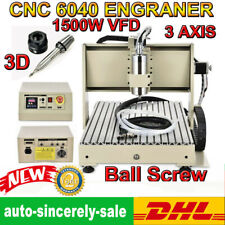 Ball Screws Cnc Engraving Machine 3 Axis 15kw Pcb Milling Wood Router Engraver