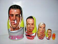 Glee nesting doll handmade and handpainted