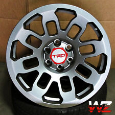"20"" Toyota TRD Style Platinum Gunmetal  Wheels Fits Lifted Tundra Sequoia 6x139"