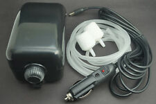 12V Car Charger Cable 4.5W Aqua Air Pump Air Oxygen Fountain Fish Tank 2 Outlet