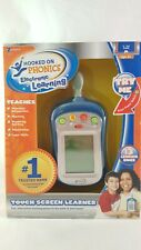 New Zizzle Hooked on Phonics Touch Screen Learner Portable Handheld Learning