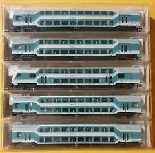 8125 E1002 Fleischmann DB AG 1x Inneneinr f Doppelstockw 8121 8124 8123 8122