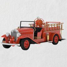 Hallmark 2018 Keepsake - 1932 Buick Fire Engine - 16th in Fire Brigade Series