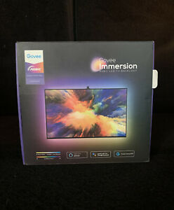 Govee Immersion Wi-Fi TV Backlight LED Strip Lights with Camera, 55 or 65in TVs