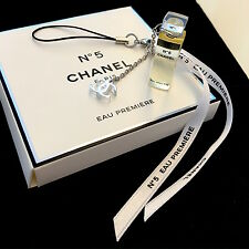 Rare Brand New CHANEL no.5 Parfum CC Logo Charms Ornament Mobile Accessories NIB