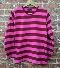 Risto-Matti Ratia S Top Shirt Striped Ringer T-Shirt Cotto Designer of Marimekko