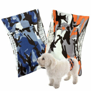 S-XL Male Puppy Dog Nappy Belly Band Wrap Toilet Sanitary Training Pants UK