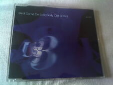 US 3 - COME ON EVERYBODY (GET DOWN) - 7 MIX UK CD SINGLE - US3