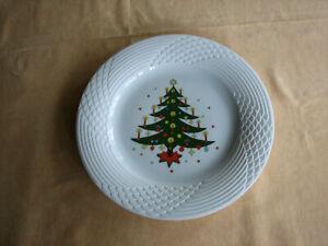 """Hutschenreuther Service Scala Weihnachtsteller  """"Tannenbaum""""  25,5cm Weihnachten"""
