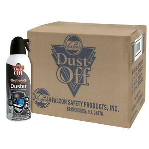 Falcon Dust-Off Compressed Gas Duster (10 oz 12 Pack)