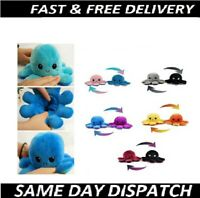 Soft Reversible Plush Toys Double-sided Happy Sad Emotions stuffed Kids Toy Gift