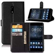 CoverKingz Nokia 6 (2017) Hülle Flip-Case Cover Schutzhülle Wallet-Case