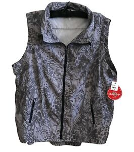 New TAKING SHAPE ACTIVE Icon Print Vest-Size 24