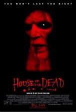 HOUSE OF THE DEAD MOVIE POSTER 2 Sided ORIGINAL 27x40
