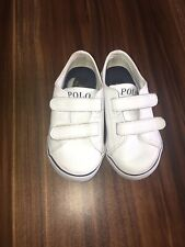 BOYS TODDLERS POLO RALPH LAUREN SHOES BEIGE TAN SIZE 7C