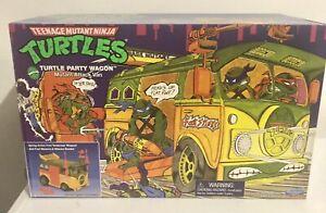 TMNT Original Party Wagon Playmates 2021 Teenage Mutant Ninja Turtles NEW