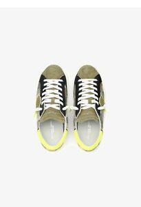 Philippe Model Paris, Schuhe, Sneaker Herren, Hoher Np. 320€, Gr. 43, Neu,