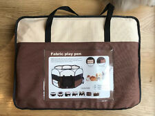 Pet Play Pen Large Fabric Dog Run Puppy Whelping Cage Enclosure Cat Rabbit