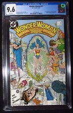 "Wonder Woman #7 1987 CGC 9.6..1st New Cheetah (Barbara Minerva) ""WW 1984"" movie"