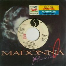 Madonna / Alphaville Live To Tell / Dance With Me 7, Jukebox Sire, WEA - PROM...