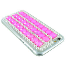 For Apple iPhone 6 Crystal Bling Diamond Rhinestone Shockproof Cover Phone Case