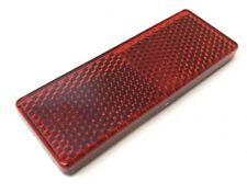 Reflektor Katzenauge Seitenstrahler 85.5x31.5mm Rot Selbstklebend E-Geprüft