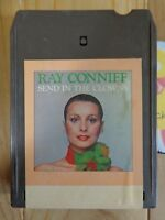 Vintage 8 Track Tape Ray Conniff Send in The Clowns Columbia TC8 CA34170 Tested
