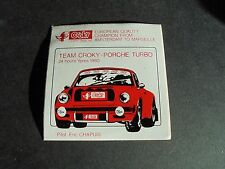 Sticker autocollant : Porsche 911 Team Croky - 24u Ieper 1980 - Eric Chapuis