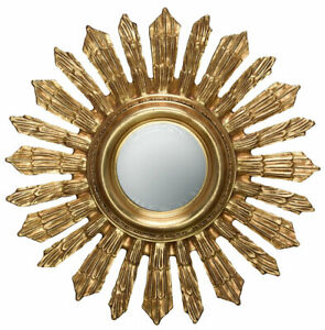 Star Antique Gold Mirror 70cm Hanging Wall Mirror Wall Decoration Sun
