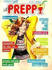 """NEW PREPPY"" N.19 EDIFUMETTO ANNI 80 JOVANOTTI COUNTRY GIRLS SFITINZIA PANINARO"