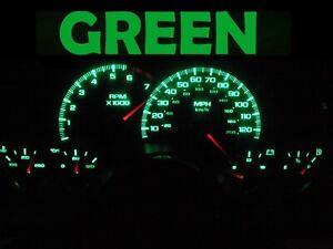 Gauge Cluster LED Dash kit Green For 97 02 Chevy Camaro Chevrolet SS Z28