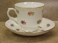 """CROWN STAFFORD SHIRE"" FINE BONE CHINA! TEA CUP & SAUCER! GREAT SHAPE!"