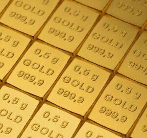 0.5g 0.5 g 0.5 Gramm Goldbarren 0.5g Gramm Feingold  mit Zertifikat